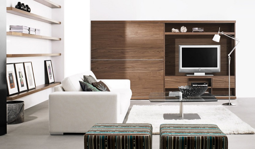 Arredamento Roma: come scegliere i mobili del soggiorno